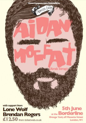 Win tickets to Aidan Moffat's London show this Saturday