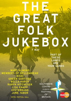 WIN! Two tickets to the Southbank centre's Great Folk Jukebox this Saturday