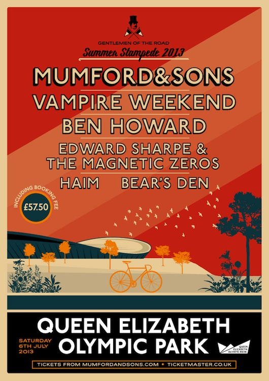 News | Mumford & Sons to headline Olympic Park show