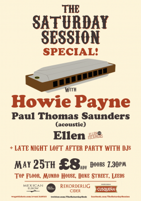 News | Howie Payne to headline Leeds event